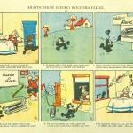 Ladislav Vlodek: Kocour Felix, reklama na firmu Elektrolux, 1926