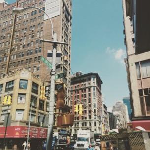 O žluté, o čase a o městě. První příspěvek z blogu věnovaného působení Fresh Eye v New York City v rámci Fulbrightova programu.