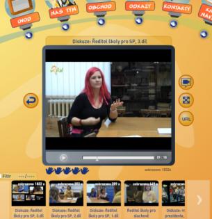 Internetovou televizi pro děti a mládež WEBlik se rozhodla vytvořit Česká komora tlumočníků znakového jazyka (Komora1 ) na základě spolupráce se svými neslyšícími členy. Jedná se o webový prostor, v němž mohou diváci sledovat novinky z komunity Neslyšících a příspěvky se související problematikou.  Právě fungováním řečené televize se tato bakalářská práce zabývá detailněji.