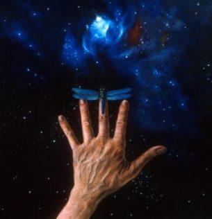 Autorka práce si klade za cíl zmapovat životní a uměleckou cestu Luďka Peška, jednoho ze zakladatelů tzv. space artu (kosmického realismu). V Česku je Luděk Pešek téměř neznámým umělcem, zejména z toho důvodu, že třicet let žil a pracoval ve Švýcarsku.
